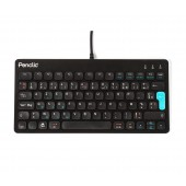 Penclic Compact Keyboard C3 Corded Azerty Black